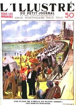 Plage des Sables d'Olonne en 1933
