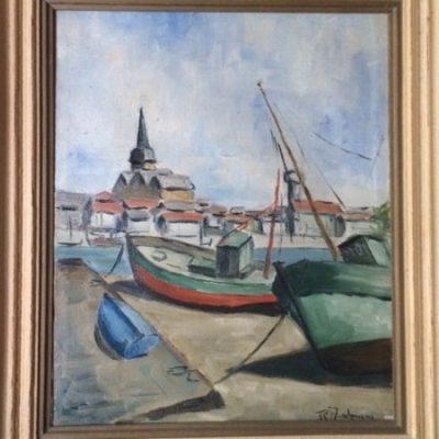Tableau peinture - Port des Sables d'Olonne