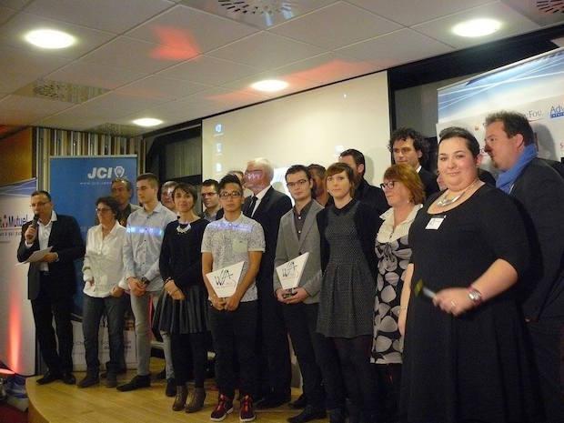 Vendéens de l'année 2015 - Trophées de la jeune chambre économique ©Photo JCE