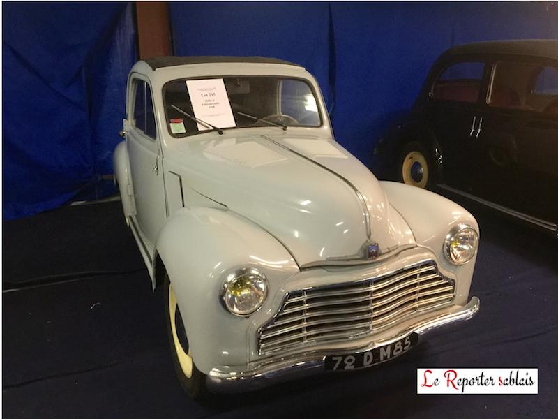 Simca 6 découvrable 1948