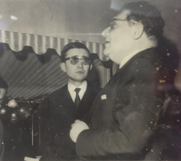 Charles-Henri Sorin avec Léon Zitrone