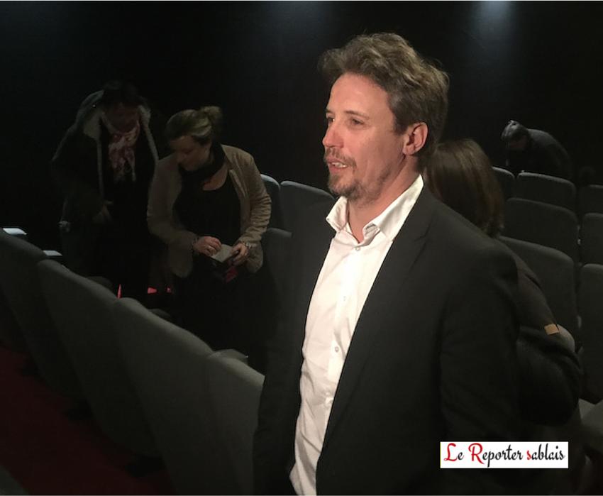 """Dominique Leborne, acteur principal dans le film """"Tempête""""."""