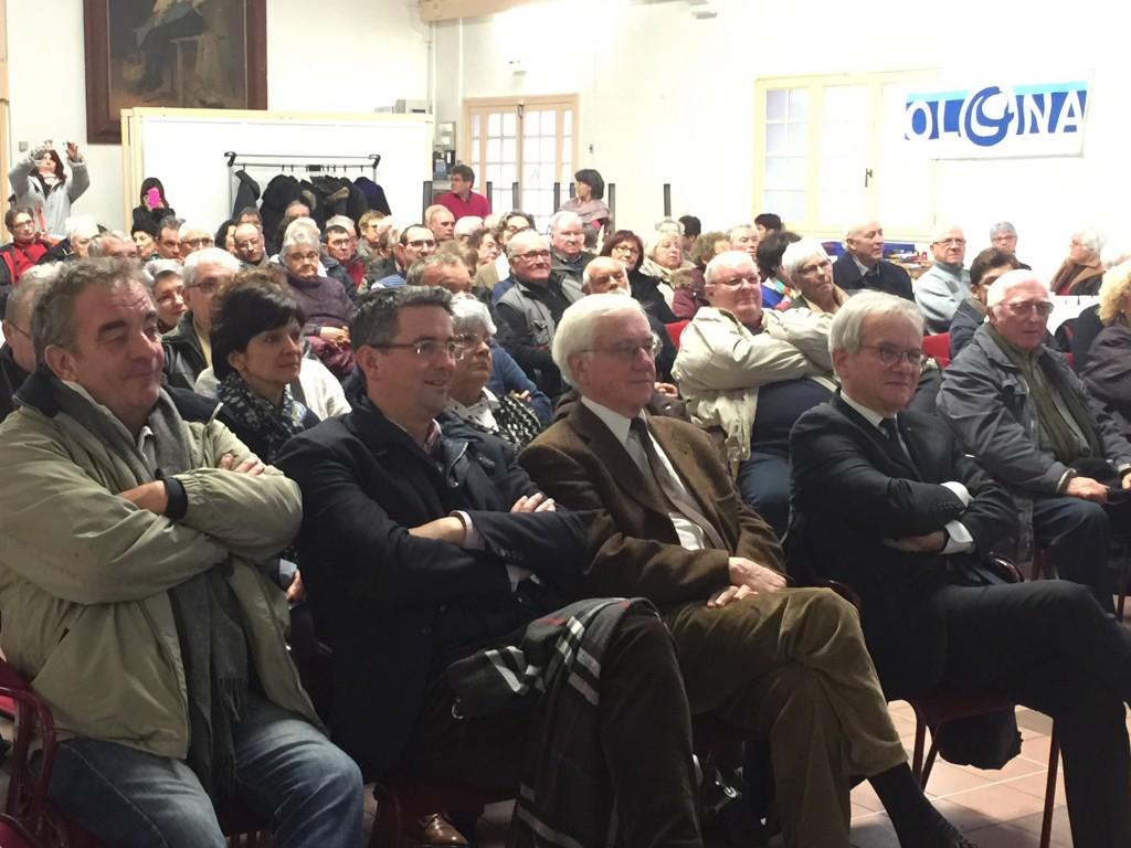 Didier Planson, consieller municipal, Yannick Moreau, député, Didier Gallot, maire des Sables d'Olonne, Gérard Faugeron, conseiller départemental.