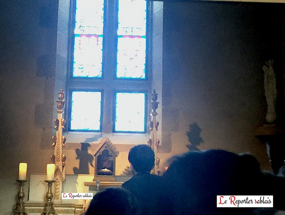 Anneau de Sainte Jeanne d'Arc au sein de la Chapelle du Puy du Fou