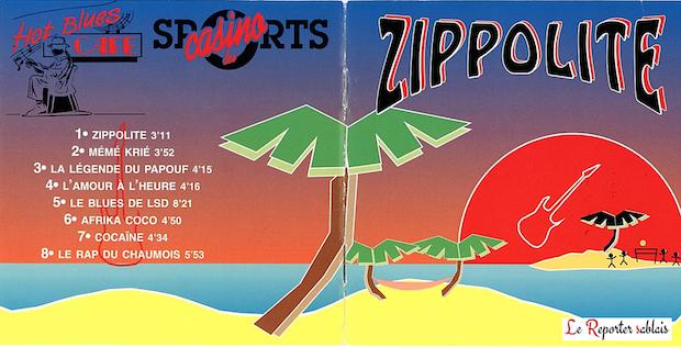 Stéphane Brisard - Titre : Zippolite - Le rap du Chaumois