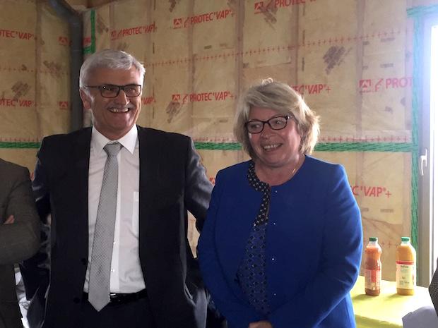 Joël Mercier et Isabelle Rivière