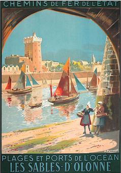 Les Sables d'Olonne par Maurice Perronnet