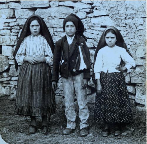 Lucie, François et Jacynthe - Fatima