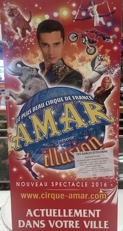 Cirque Amar - Les Sables d'Olonne