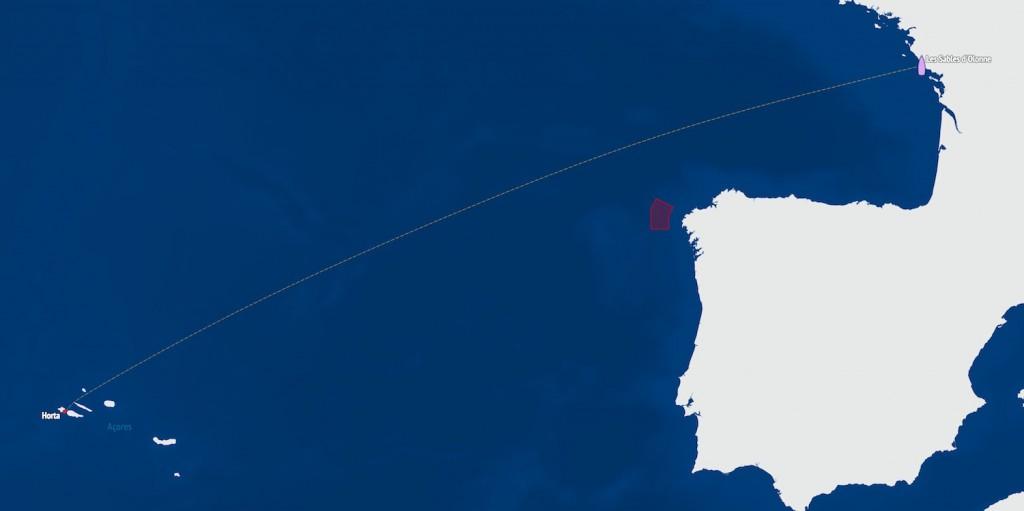 Les Sables d'Olonne - Les Açores (Horta)