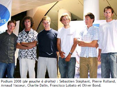 Podium 2008 Les Sables Les Açores