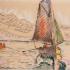 Paul Signac : voiliers aux Sables d'Olonne