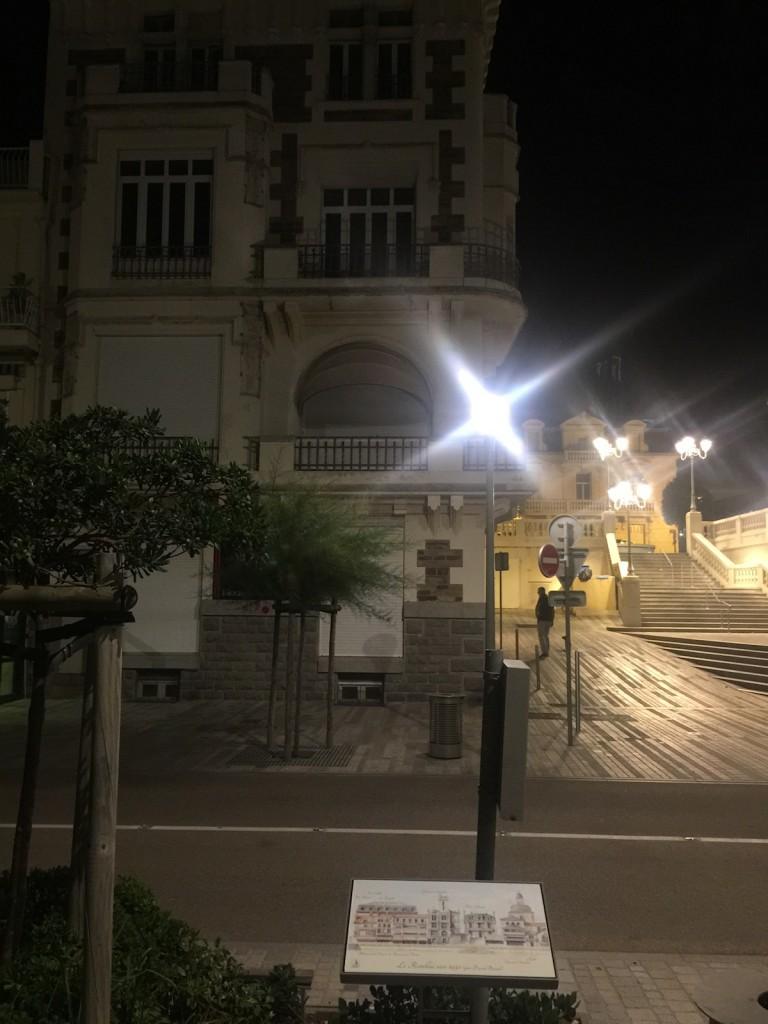 Plaque devant le Palazzo Clementina