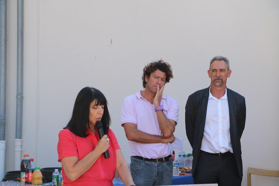 Brigitte Tesson Christophe Guibert et Dominique Duhamel.
