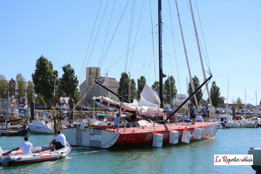 Come In Vendée le 6 août 2016 au départ d'une auto-qualification