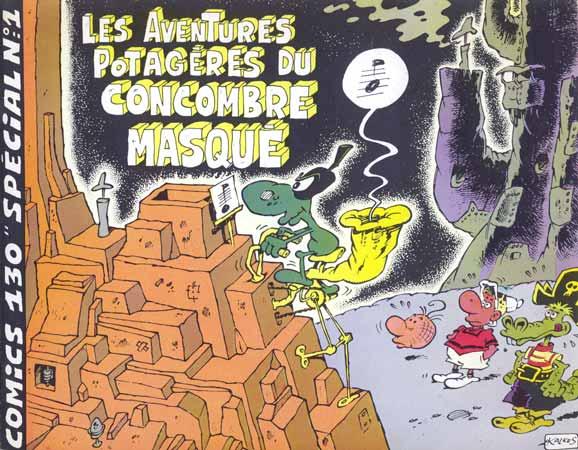 Les Aventures potagères du Concombre masqué