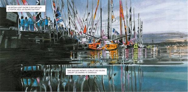 Histoires du Vendée Globe - Bande dessinée BD 2016 - ©Dargaud