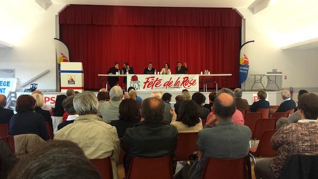 Estelle Grelier à la Fête de la Rose du PS Vendéen