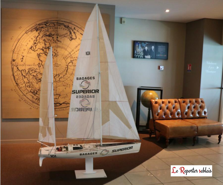 Vendée Globe - Maquette de Bagages Superior