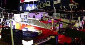 Les bateaux du Vendée Globe en vision nocturne