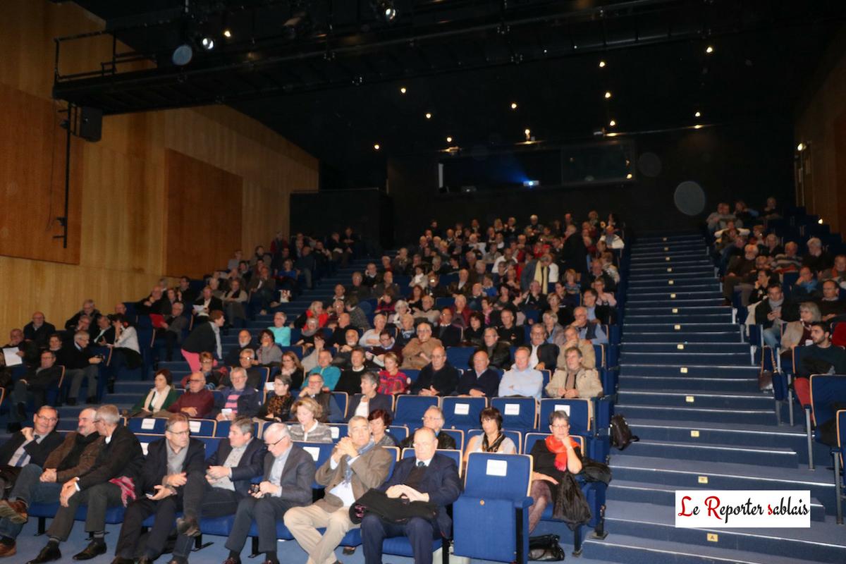 300 personnes à la Conférence sur les Communes nouvelles à Olonne-sur-Mer