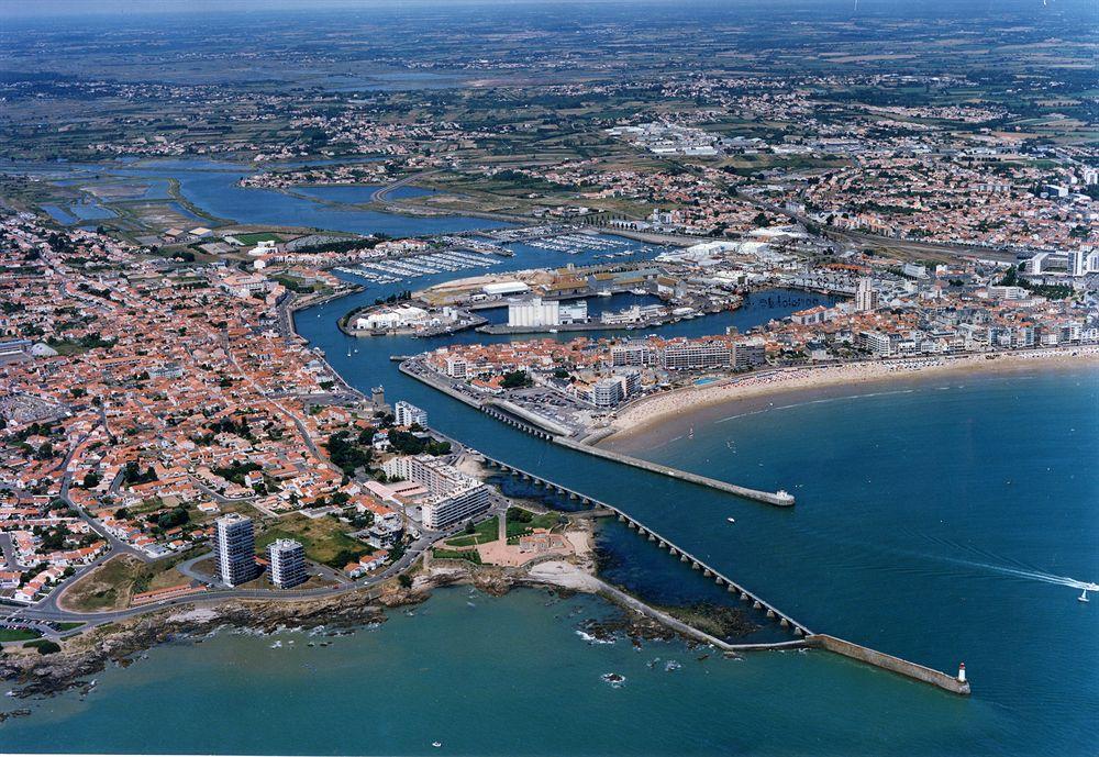 Vue aérienne du Pays des Olonnes - Photos: DR