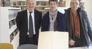 Don des Archives du Syndicat des Marais de laz Gachère