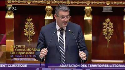 Yannick Moreau, député de l'opposition