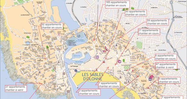 carte des sables d olonne Plan local d'urbanisme PLU : ce qu'il faut retenir   Le Reporter