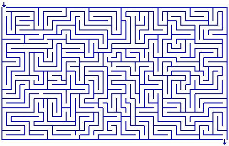 Nouveau labyrinthe pour la chaume le reporter sablais - Jeu labyrinthe a imprimer ...